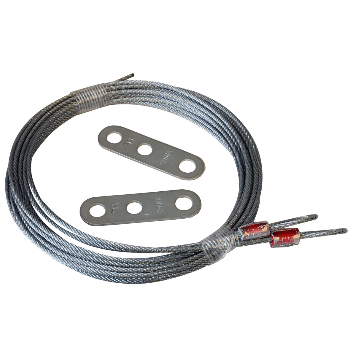 Restraint Cables for Extension Springs