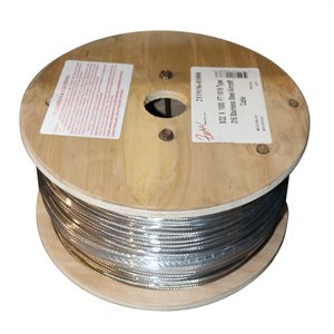 5 / 32 X 1000 FT 1X19 Type 316 Stainless Steel Cable