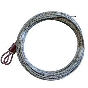 "3 / 32 X 120"" 7X7 GAC, Loop 1 End - Cable Hanger"