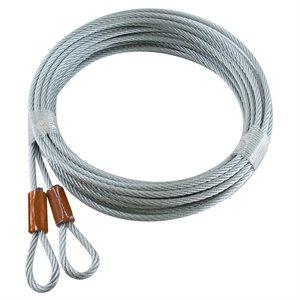 "1 / 8 X 168"" 7X7 GAC, Loop 1 End - Cable Hanger"