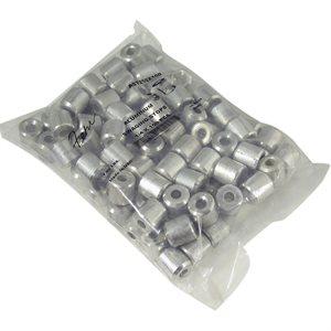 1 / 4 X 100 Pcs Aluminum Stops