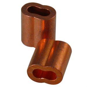 1 / 8 X 100 Pcs Copper Sleeves