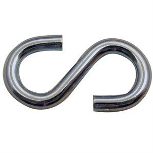 1 / 4 X 2-1 / 4 S-Hook Zinc Plated
