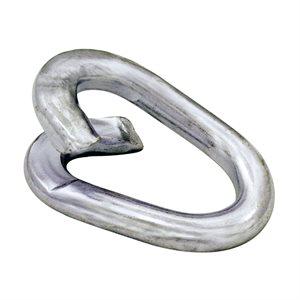3 / 8 Lap Links (9MM) Zinc Plated