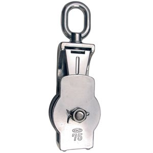 S212 75MM Stainless Steel Open Block