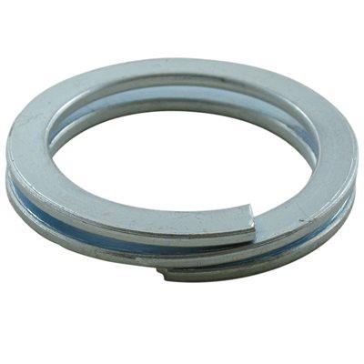1-3 / 4 IN X 1000 Pcs Split Ring Zinc Plated