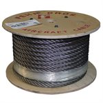 3 / 4 6X25 IWRC Stainless Steel Wire Rope Cut Length