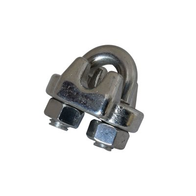 1 / 4 Type 316 Stainless Steel Wire Rope Clip