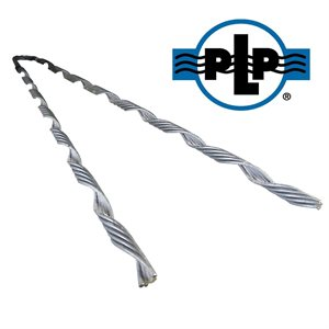 5 / 16 Galvanized PLP Big Grip Dead Ends (Black)