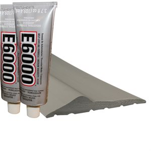 Threshold-16' (TH300) Inc (2) 3.7 Oz Tube Adhesive - Gray